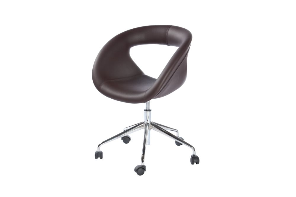 Polished Aluminium, King Fabric 4021,Gaber,Breakout & Cafe Chairs,chair,furniture,material property,office chair,product
