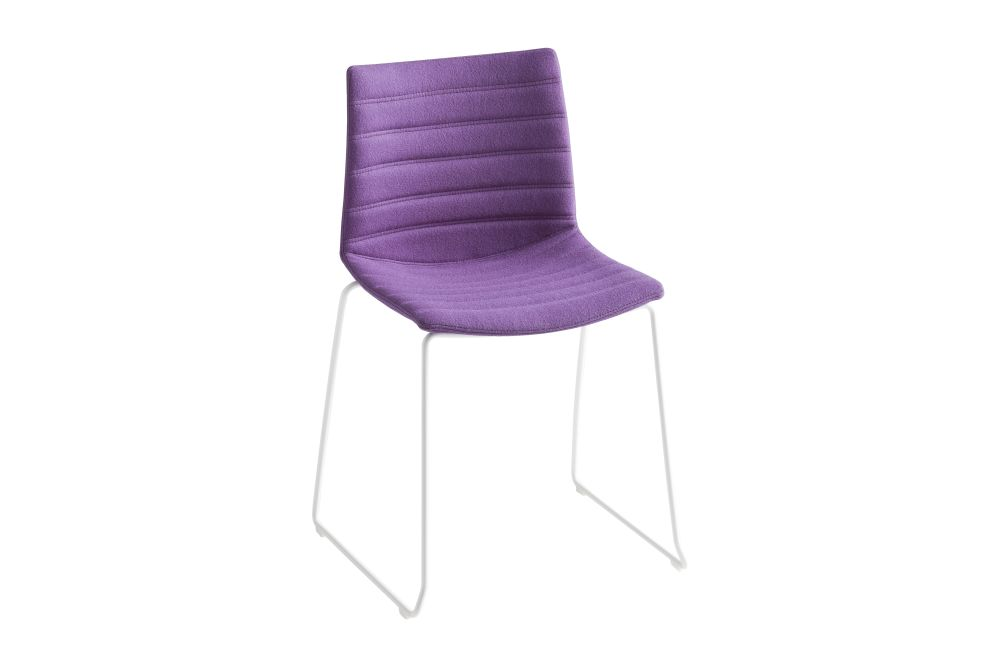 Simil Leather Aurea 1, Chromed Metal,Gaber,Breakout & Cafe Chairs,chair,furniture,purple,violet