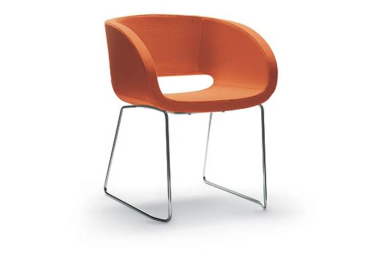 Jet 9110,Diemme,Breakout Lounge & Armchairs,chair,furniture,orange,product,table