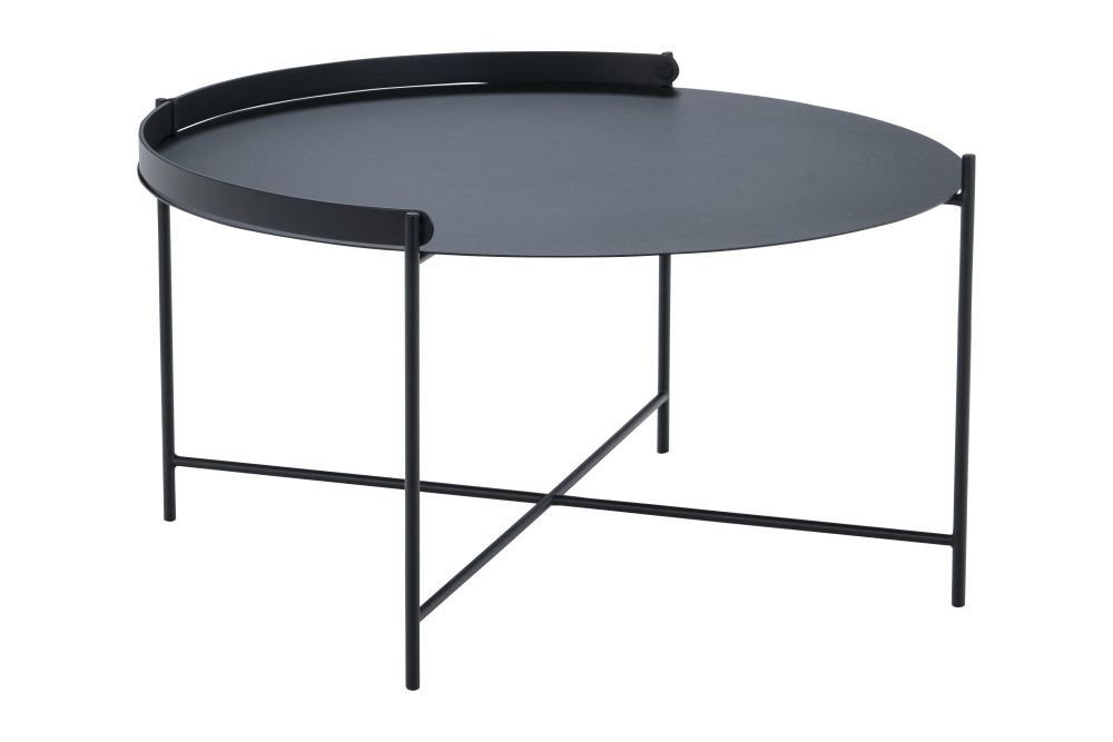 Black, 46cm,HOUE,Outdoor Tables,coffee table,end table,furniture,outdoor table,table