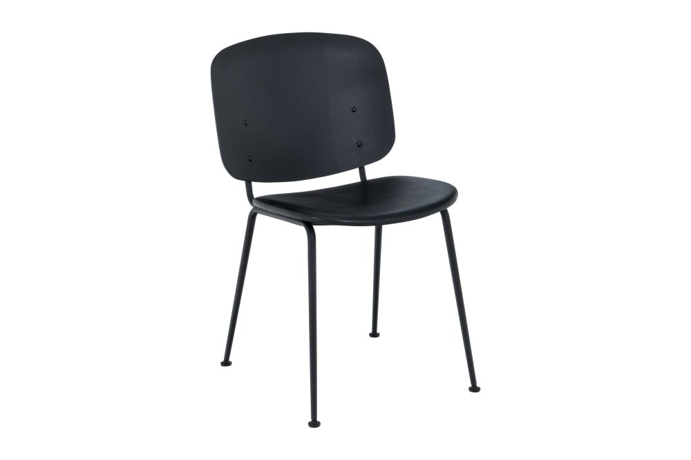 Black Leather,HOUE,Dining Chairs,chair,furniture