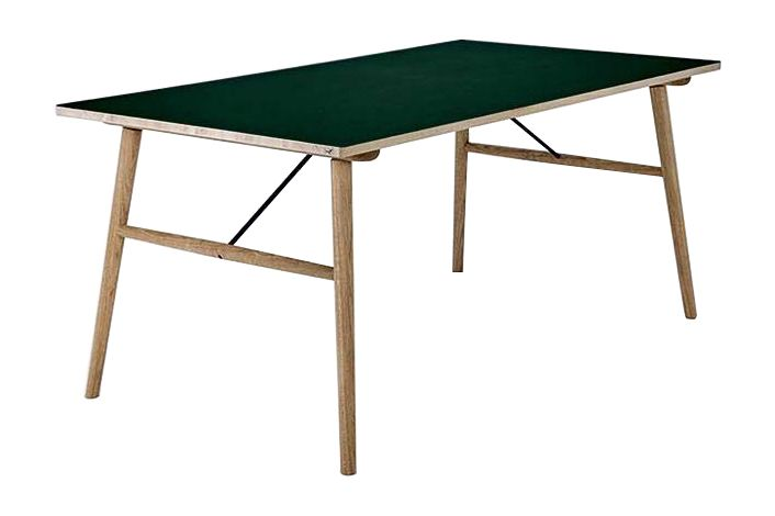 Black, 168cm,HOUE,Dining Tables,coffee table,desk,furniture,outdoor furniture,outdoor table,plywood,rectangle,table