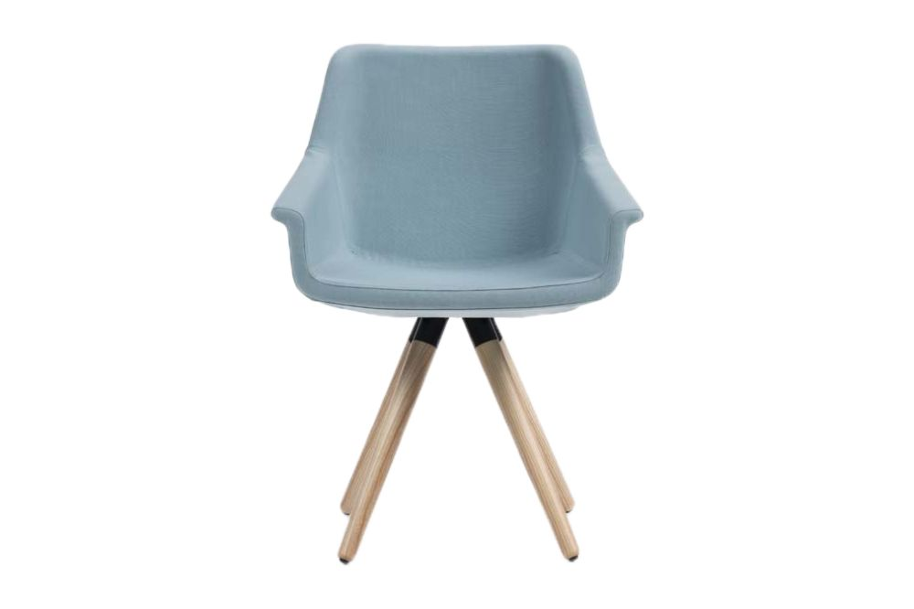 dama armchair wooden base mme clippings