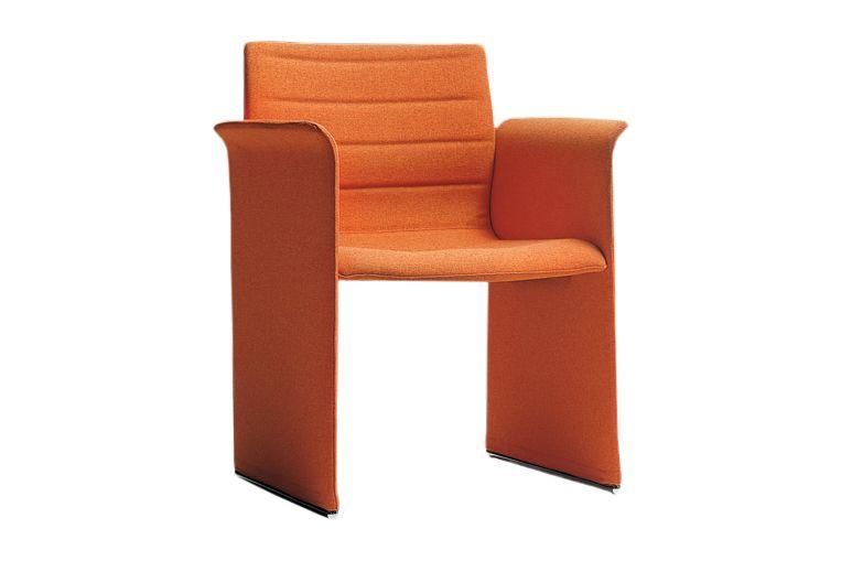 Jet 9110,Diemme,Breakout Lounge & Armchairs,chair,furniture,orange