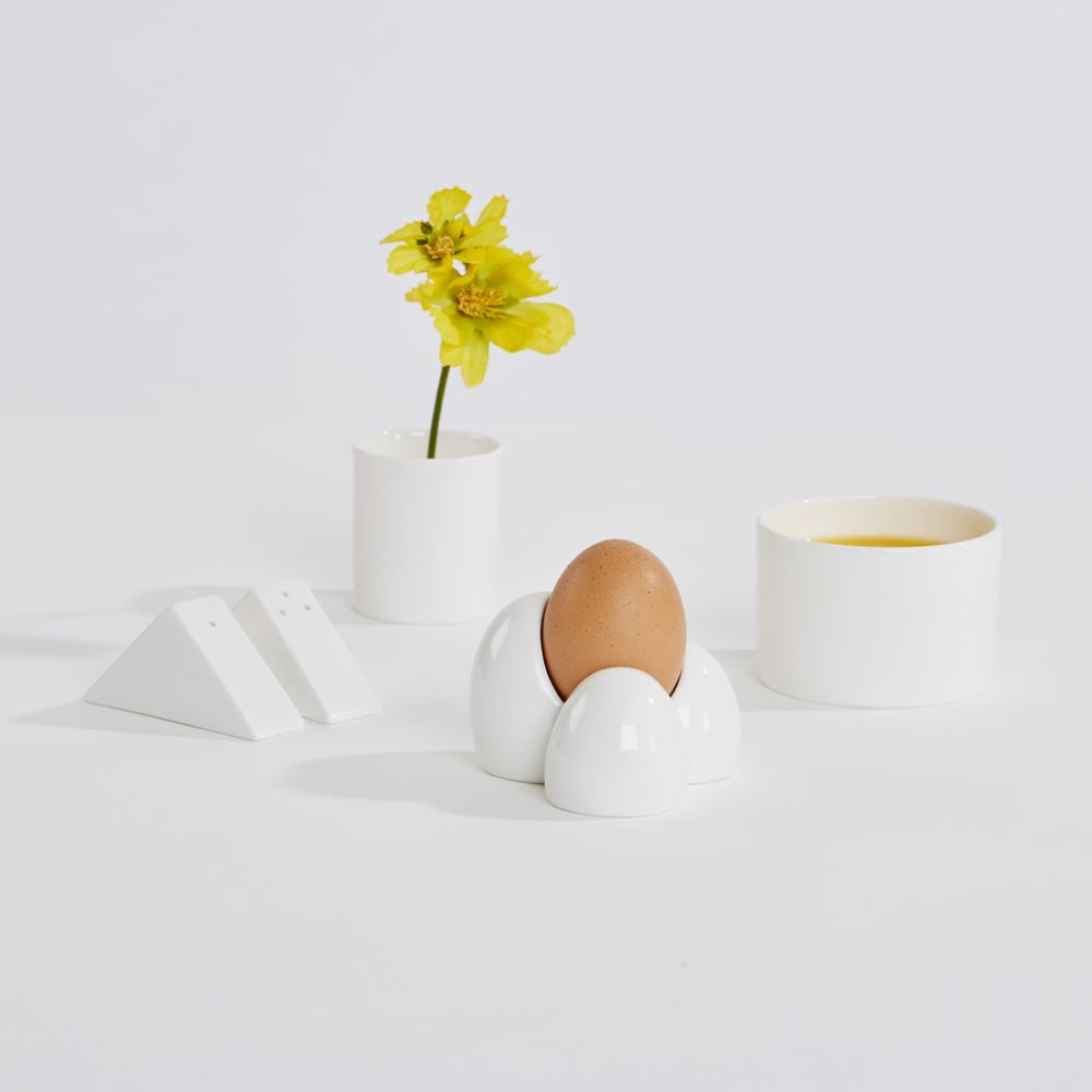 Lunar egg cup,Thelermont Hupton,Kitchen & Dining,egg,egg cup,serveware,still life,still life photography,tableware,yellow