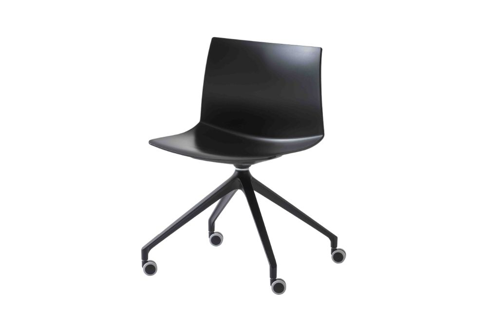 00 White, White Aluminium,Gaber,Conference Chairs,chair,furniture,material property,office chair
