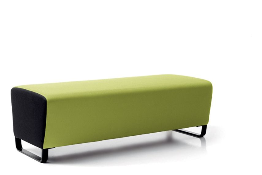 Jet 9110,Diemme,Breakout Poufs & Ottomans,furniture,ottoman,rectangle,table,yellow
