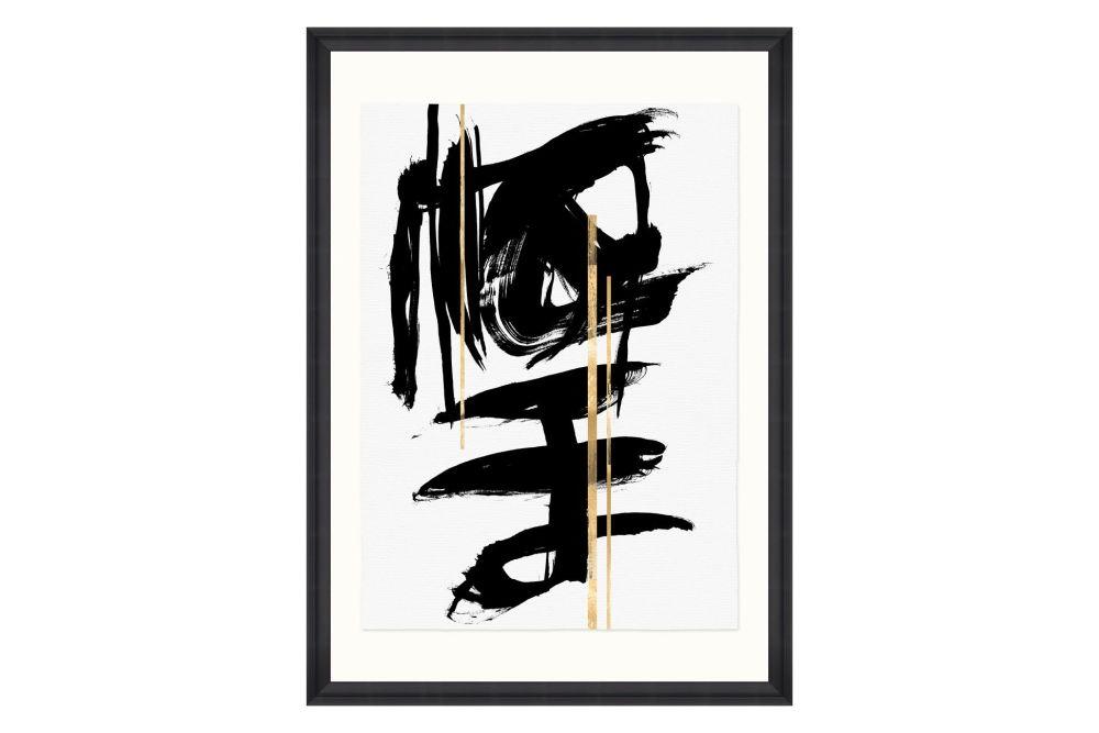 Gestural Abstraction I Framed Art by Mind The Gap