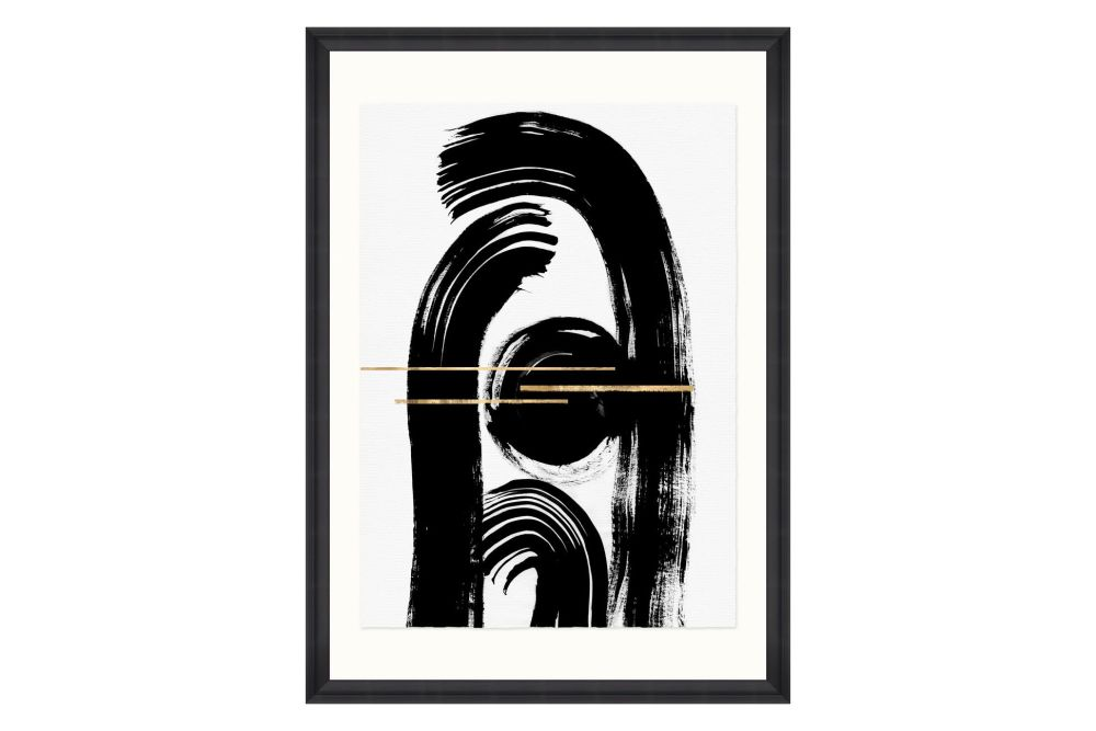Gestural Abstraction II Framed Art by Mind The Gap