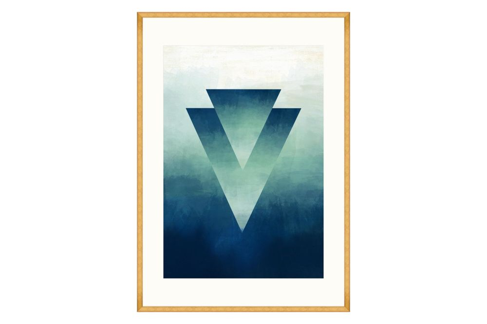 Ombre II Framed Art by Mind The Gap