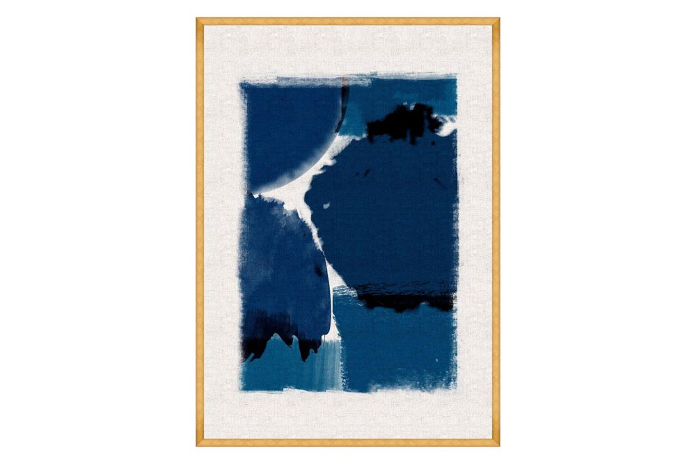 Mind The Gap,Prints & Artwork,blue,painting