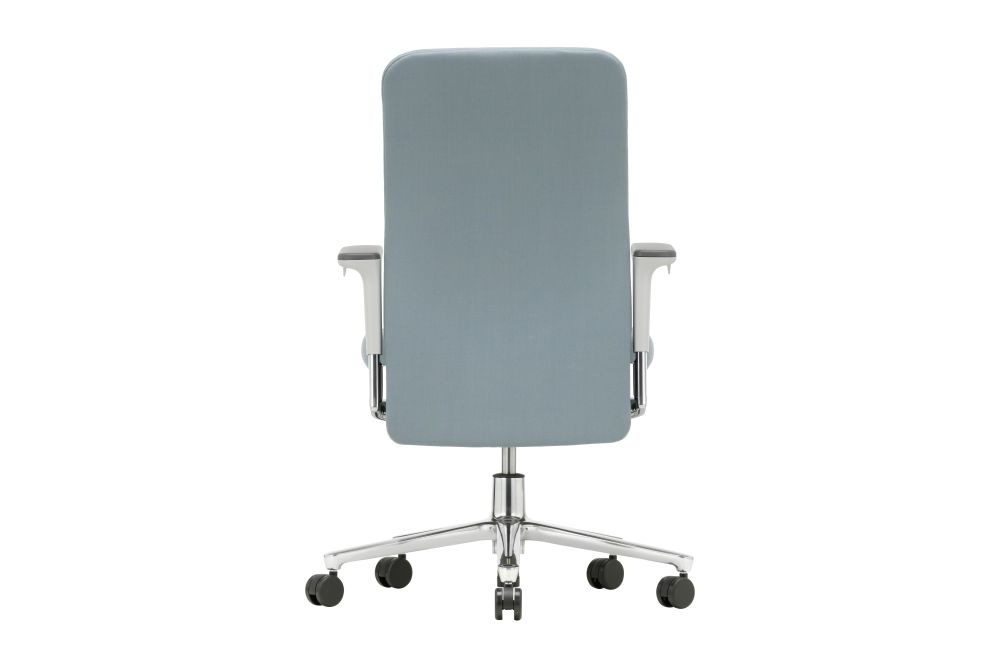 Pacific Meeting Chair with Medium Backrest and 3D Armrests by Vitra