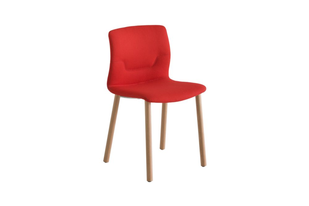 Simil Leather Aurea 1,Gaber,Breakout & Cafe Chairs,chair,furniture,orange,red
