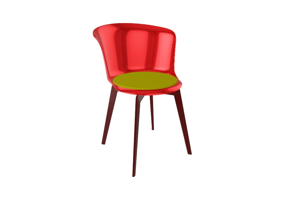 00 White, 00 White, Steelcut 2 110,Gaber,Breakout & Cafe Chairs,chair,furniture,red