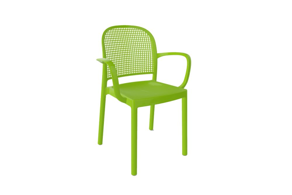 00 White,Gaber,Breakout & Cafe Chairs,chair,furniture,green,line,outdoor furniture