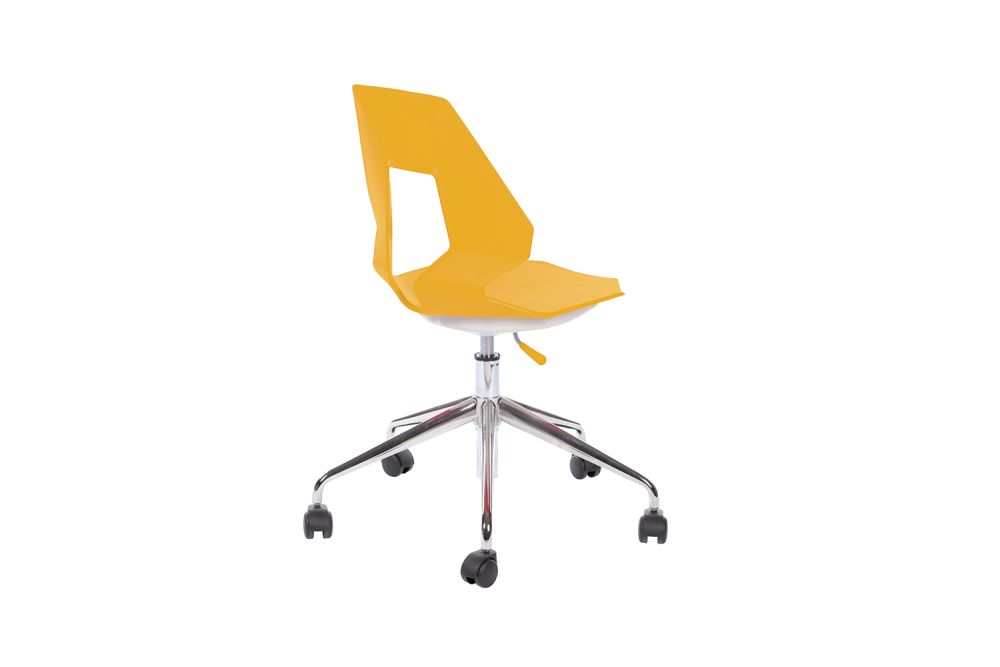 00 White,Gaber,Conference Chairs,chair,furniture,line,office chair,product