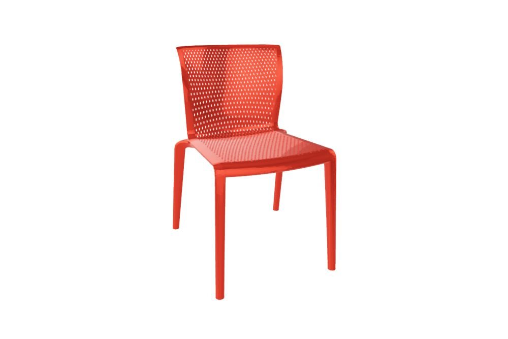 00 White,Gaber,Breakout & Cafe Chairs,chair,furniture,orange,outdoor furniture,red