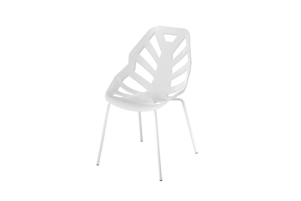 00 White, Chromed Metal,Gaber,Breakout & Cafe Chairs,chair,furniture,white