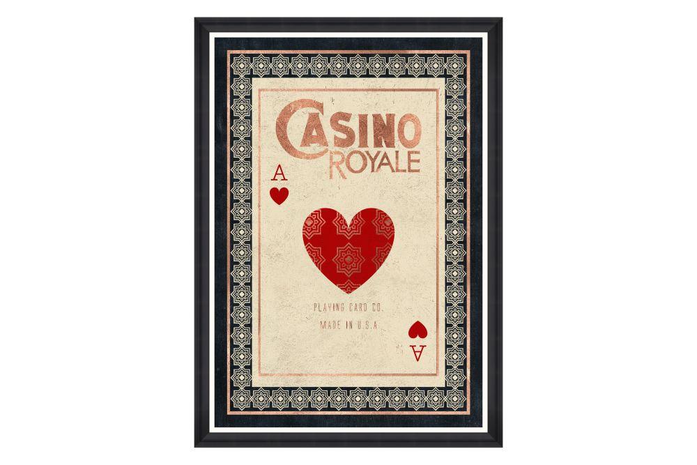 Casino Royale Framed Art by Mind The Gap