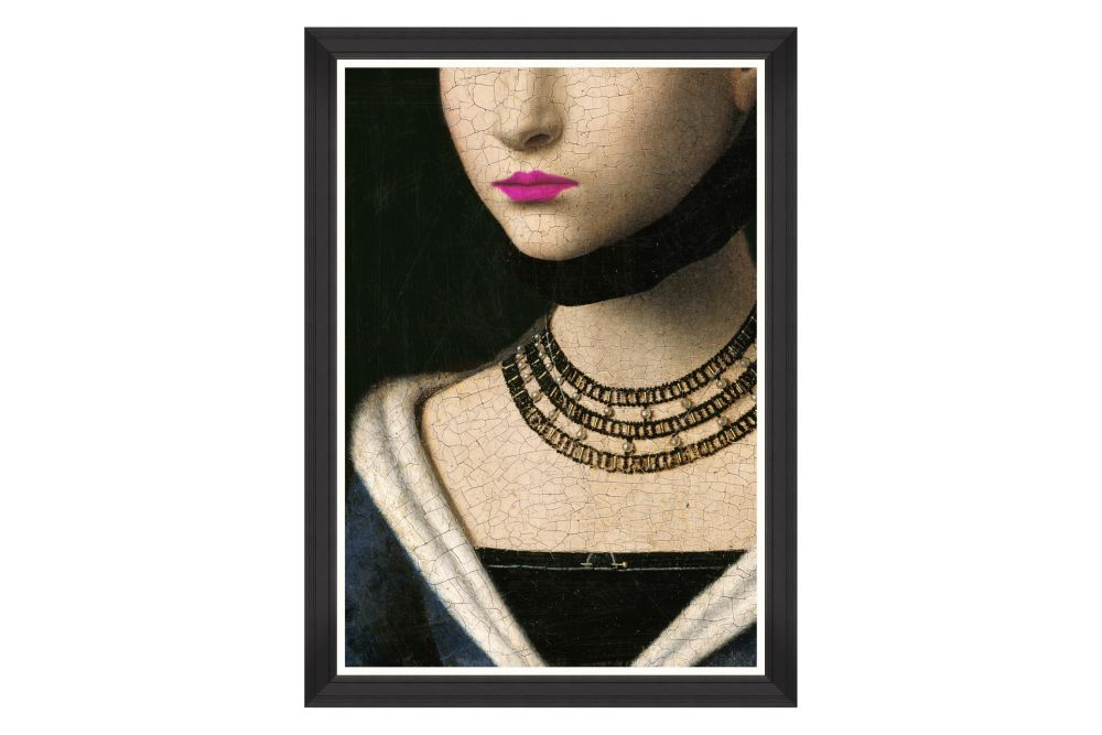 Mind The Gap,Prints & Artwork,beauty,beige,fashion,lip,mannequin,neck,necklace