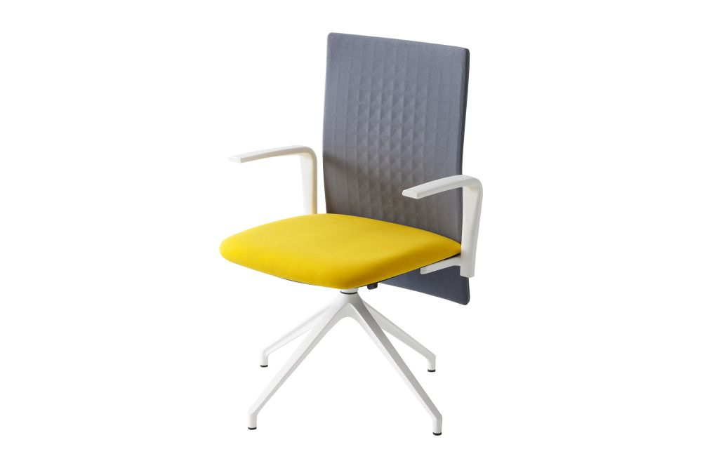 Thermoformed T04, Thermoformed T02, Steelcut 2 780, 10 Nero,Gaber,Conference Chairs,chair,furniture,yellow