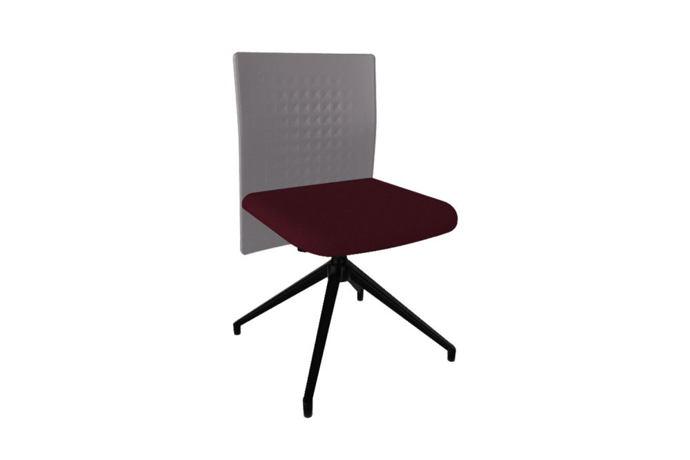 Thermoformed T01, Thermoformed T01, King L Fabric 1010, 10 Nero,Gaber,Conference Chairs,chair,furniture,line