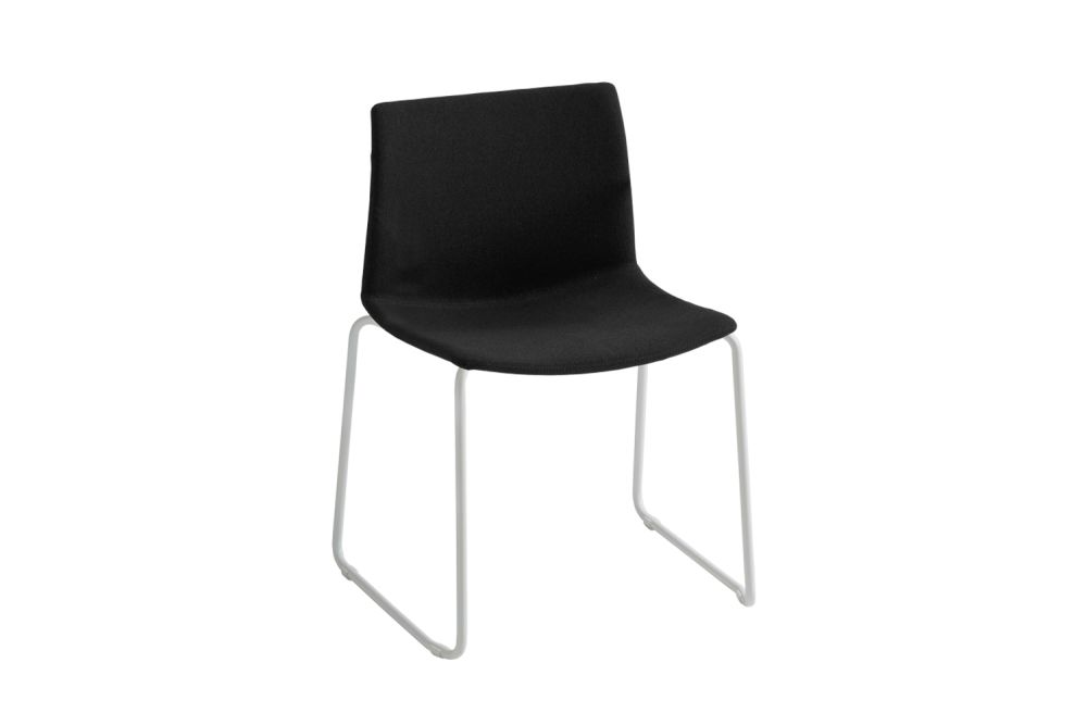 00 White, Simil Leather Aurea 1, Chromed Metal,Gaber,Breakout & Cafe Chairs,black,chair,furniture