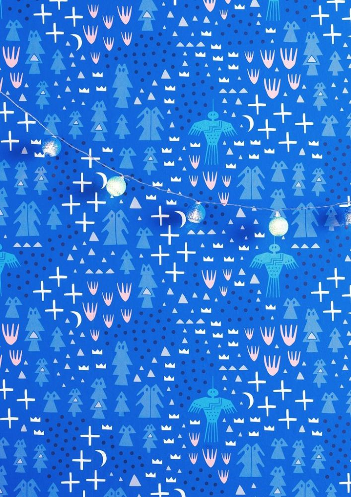 Order A Roll,Sian Elin ,Wallpapers,aqua,blue,design,electric blue,line,pattern