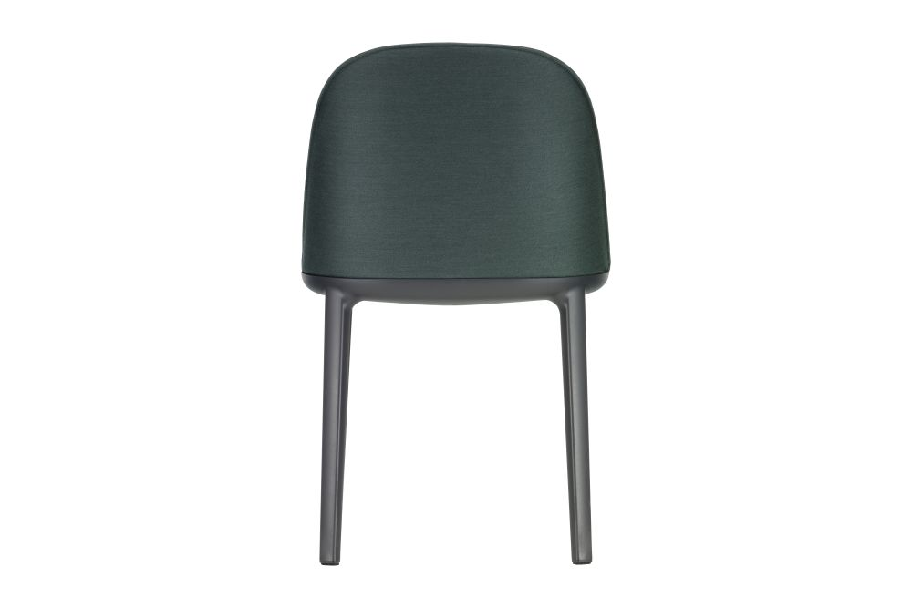 Dumet 08 anthracite melange, 30 Basic Dark, 04 glides for carpet,Vitra,Dining Chairs,chair,furniture