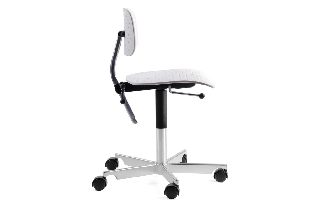 Kevi Air Chair 5 Star Base on Castors by Engelbrechts