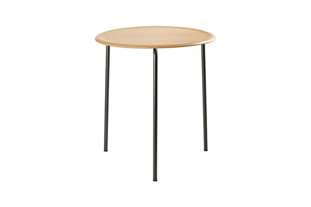 Veneer Black Lazure, Polished Chrome, 70cm,Engelbrechts,Coffee & Side Tables,end table,furniture,outdoor table,stool,table