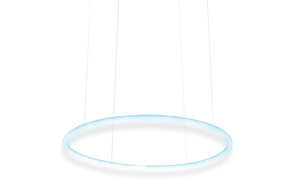 ø 155 cm,Artemide,Pendant Lights,ceiling,circle,product,white