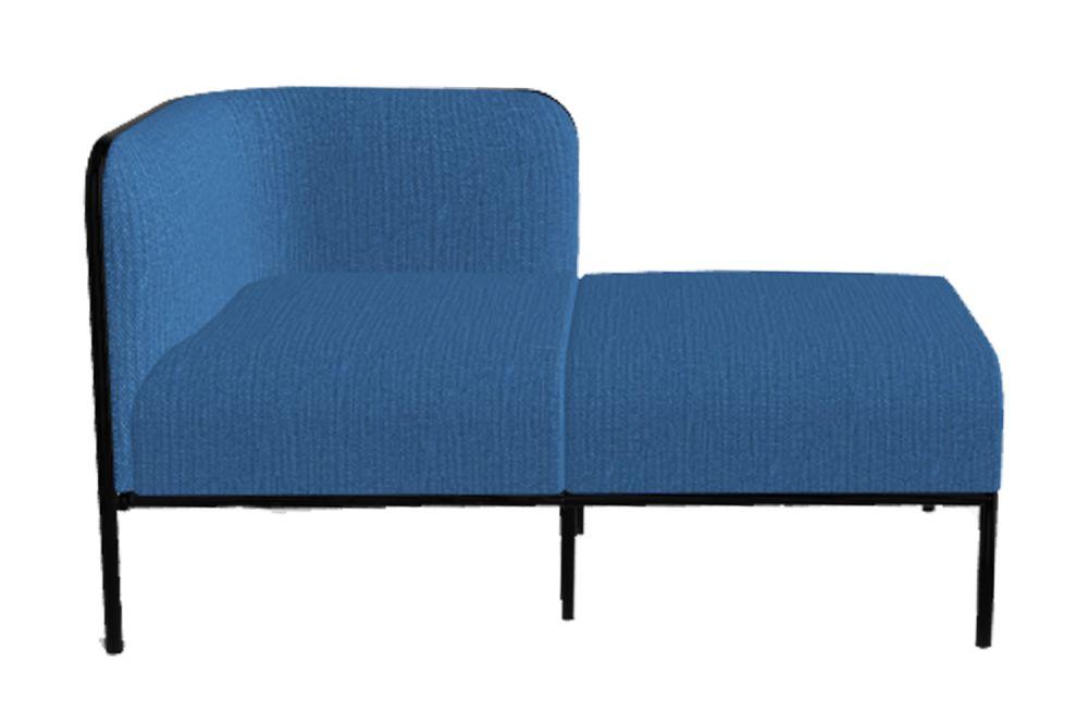 Simil Leather Aurea 1, Black Painted Metal,Gaber,Breakout Sofas,chair,furniture,outdoor furniture