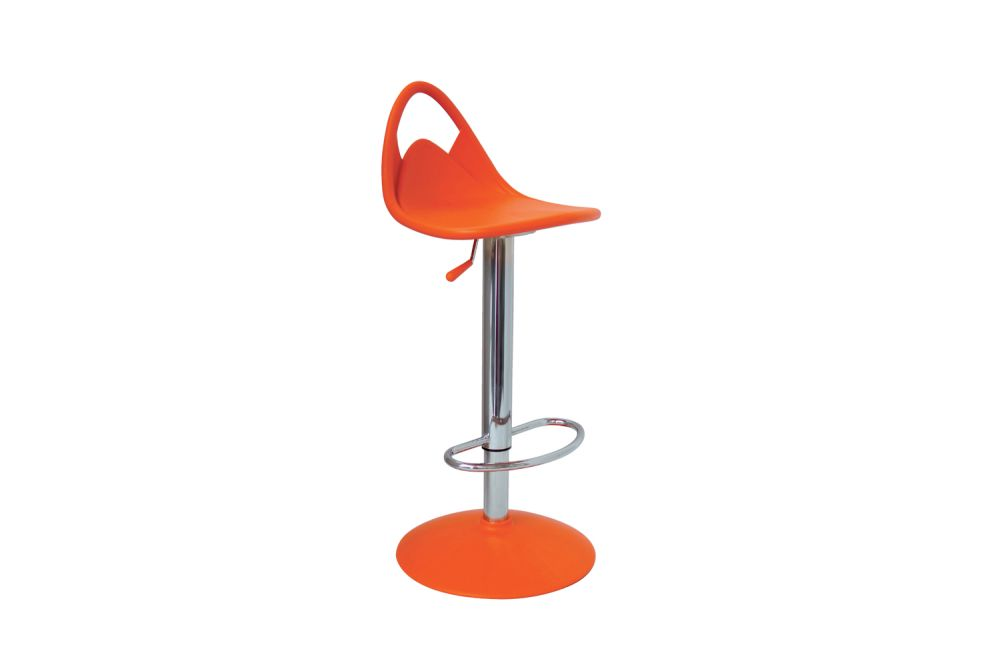 00 White,Gaber,Stools,bar stool,orange,stool