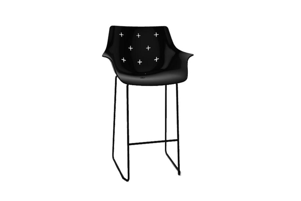 Chromed Metal, 00 White,Gaber,Stools,chair,furniture