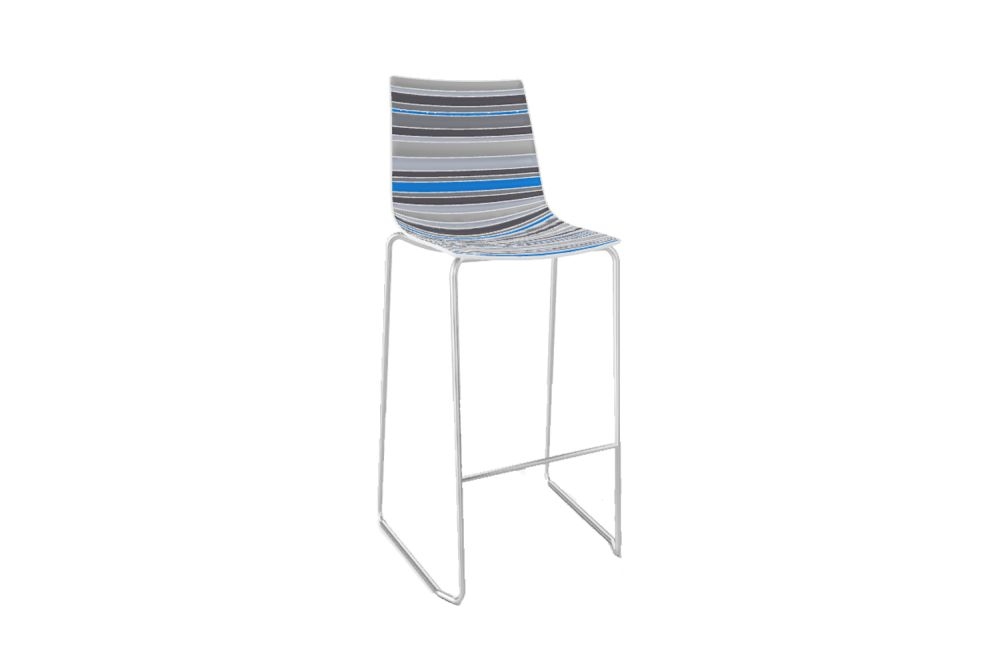 Colorfive Shell Colour 1, Chromed Metal,Gaber,Stools,chair,furniture
