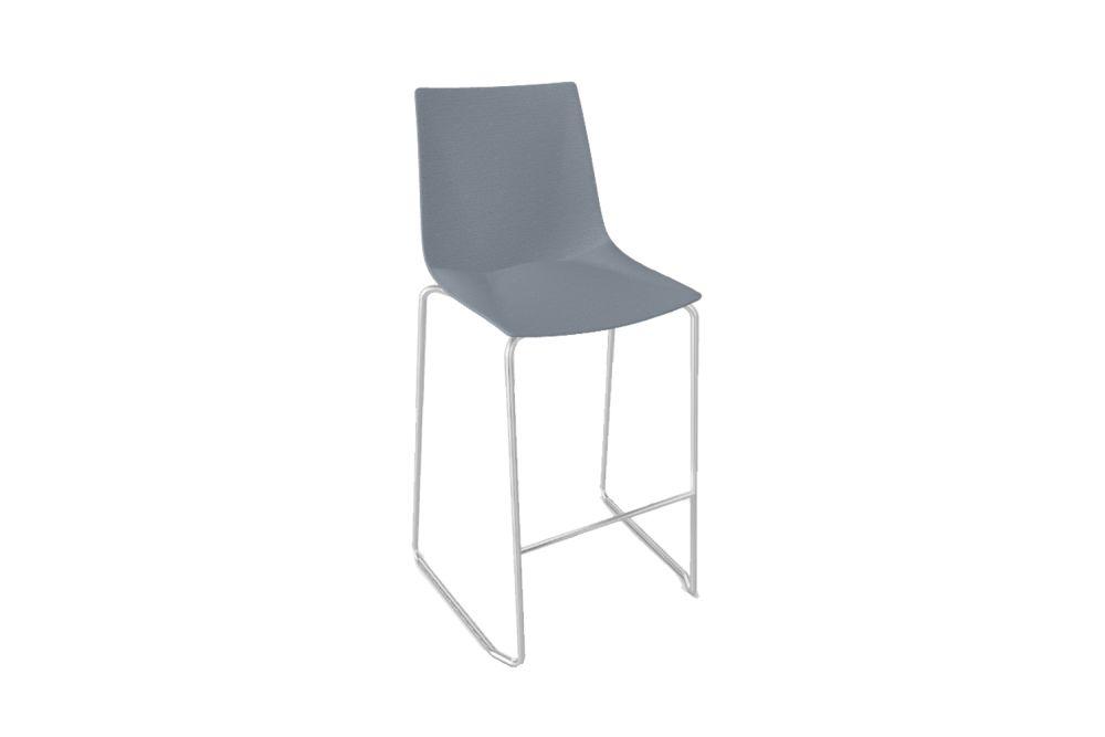 Simil Leather Aurea 1, Chromed Metal,Gaber,Stools,chair,furniture