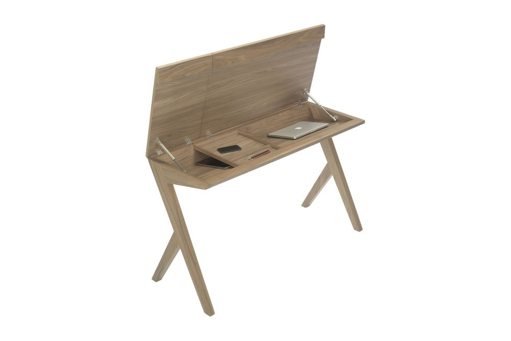 Natural Walnut,Kendo,Office Tables & Desks,chair,desk,furniture,plywood,table,wood