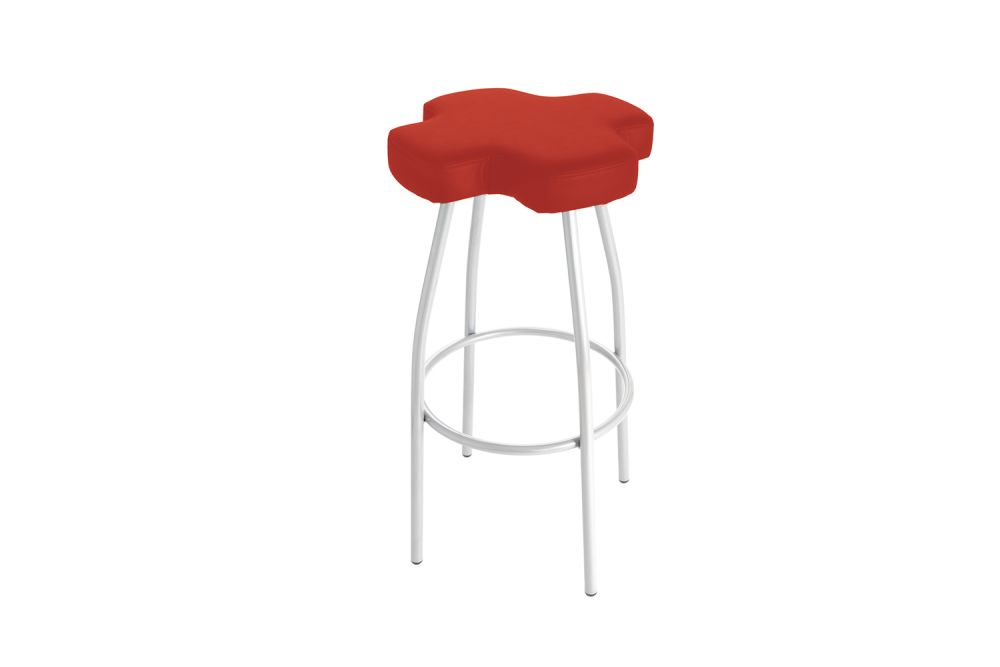 Simil Leather Aurea 1,Gaber,Stools,red
