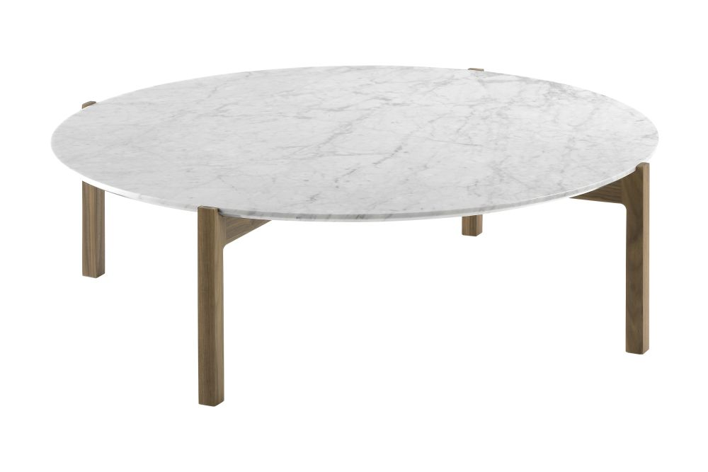 White Marble, 70cm,Kendo,Coffee & Side Tables,coffee table,furniture,outdoor table,oval,table