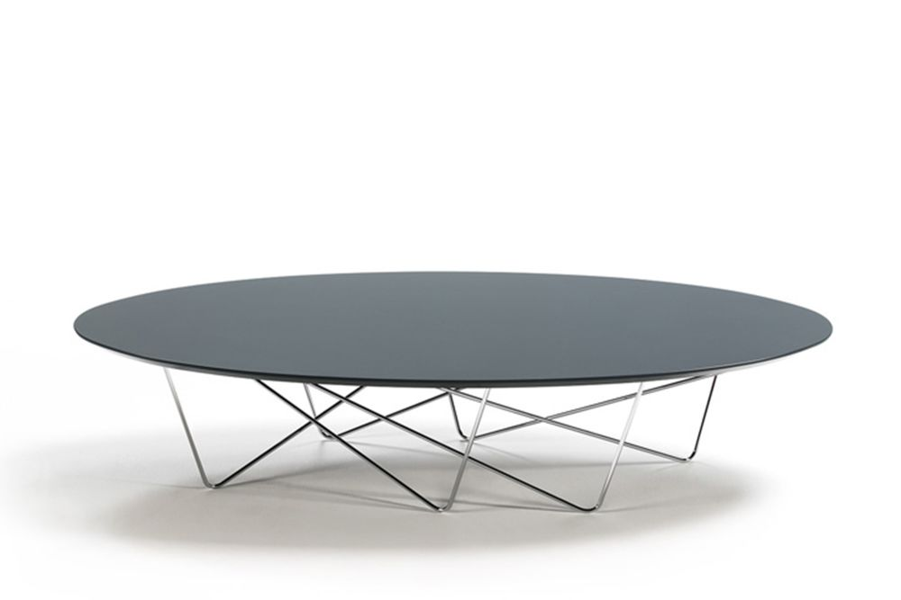 Piedra Stone RAL 7044, Chromed, 180cm,Kendo,Coffee & Side Tables,coffee table,furniture,outdoor table,oval,table