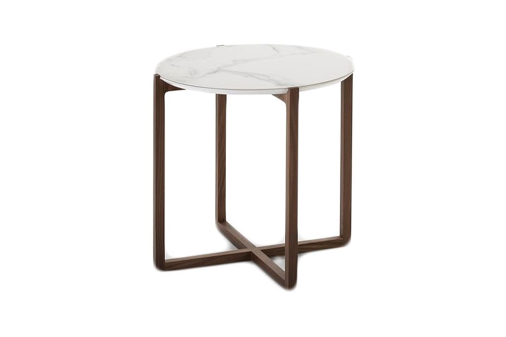 White Marble, 65cm,Kendo,Coffee & Side Tables,bar stool,coffee table,end table,furniture,outdoor furniture,outdoor table,stool,table