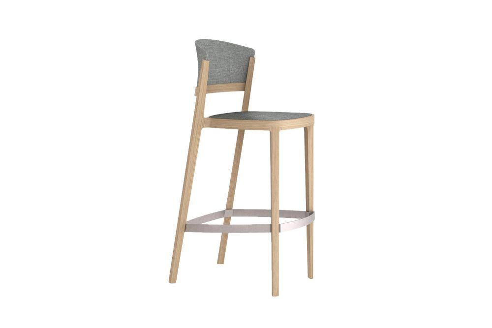 King Fabric 4021,Gaber,Stools,bar stool,beige,chair,furniture,stool