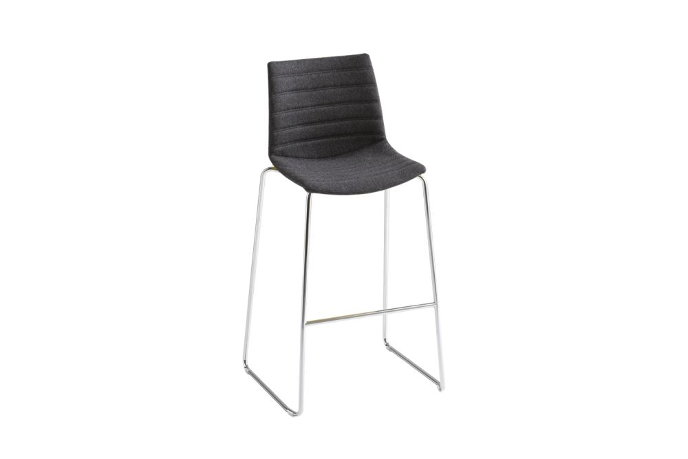 Simil Leather Aurea 1, Chromed Metal,Gaber,Stools,chair,furniture