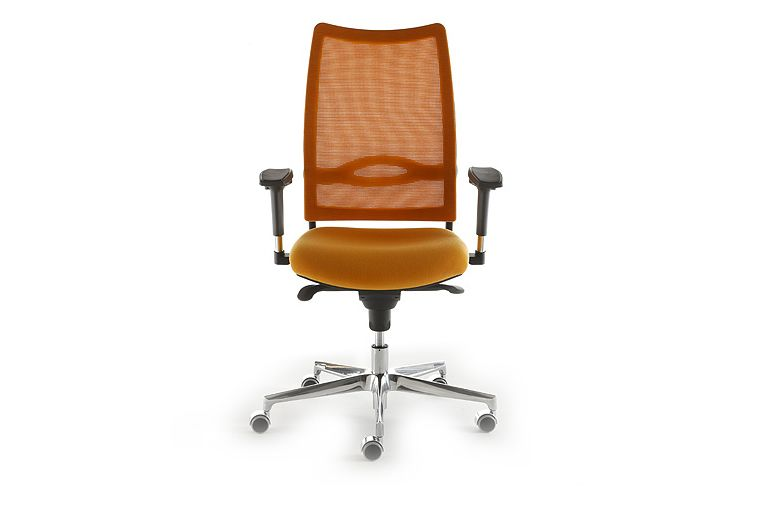 Jet 9110, Reti Flash / Goal / Nest / Social / Sunny 1001,Diemme,Task Chairs,chair,furniture,line,office chair,orange
