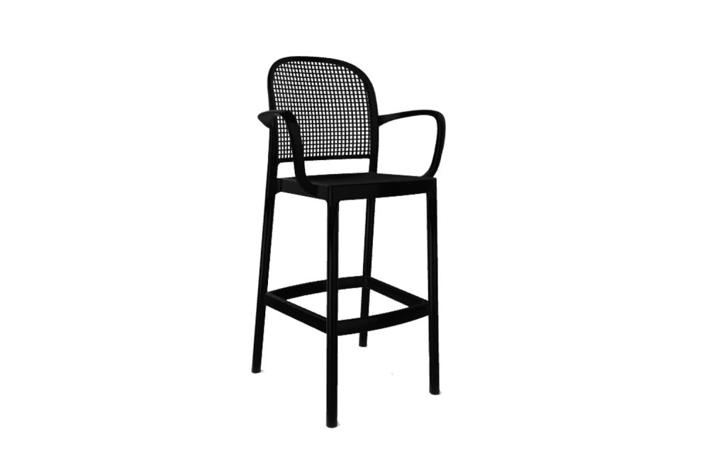 00 White,Gaber,Stools,bar stool,chair,furniture,line
