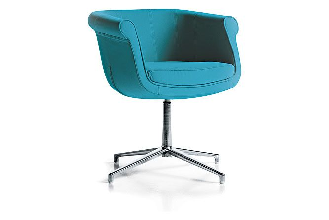 Jet 9110,Diemme,Breakout Lounge & Armchairs,aqua,azure,chair,cobalt blue,furniture,material property,office chair,turquoise