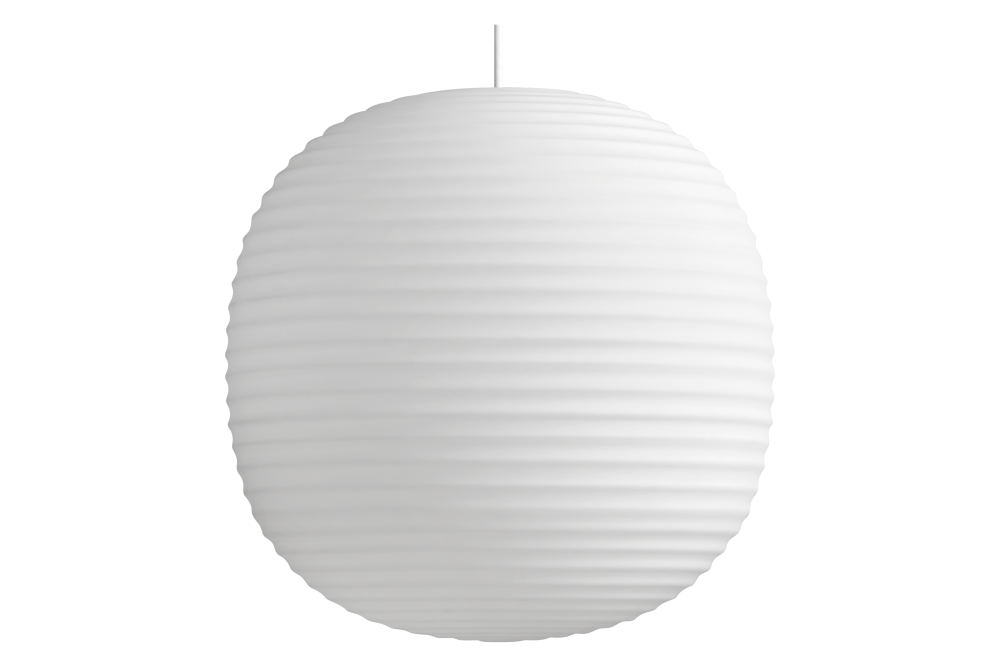 Medium,New Works,Pendant Lights,ceiling,ceiling fixture,lamp,lampshade,lantern,light fixture,lighting,lighting accessory,oval,white