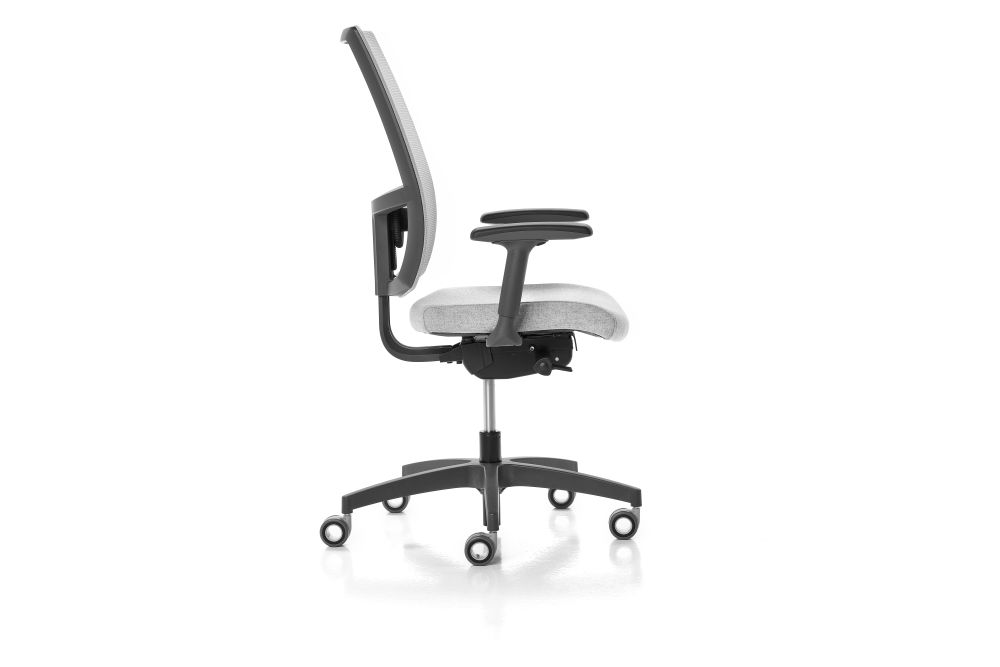 Jet 9110, Reti Flash / Goal / Nest / Social / Sunny 1001, 3D Black,Diemme,Task Chairs,chair,furniture,office chair,product