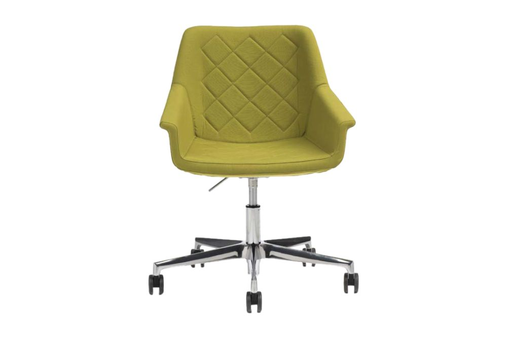 Jet 9110,Diemme,Breakout Lounge & Armchairs,chair,furniture,line,office chair,plastic,product,yellow